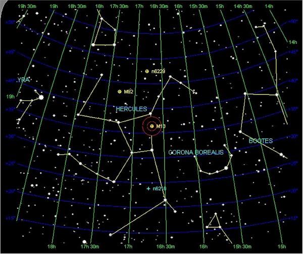 Hercules Constellation Star Names The constellation Hercules is
