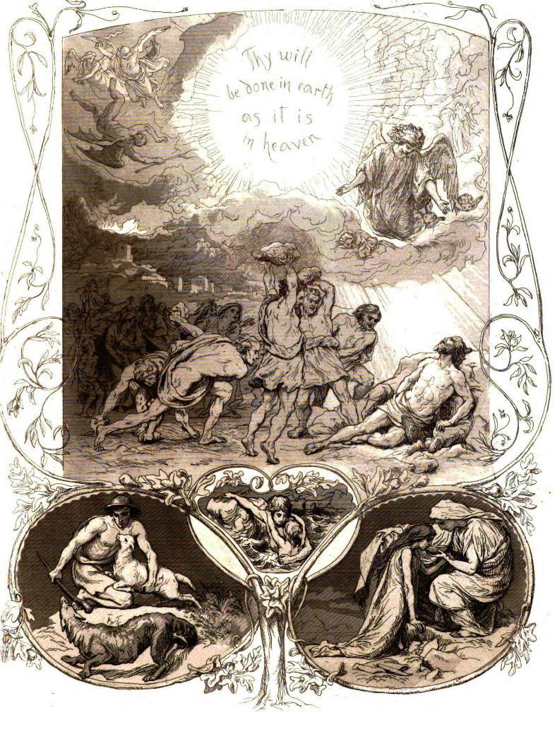 the lord u0027s prayer ilustrated by lorenz frølich