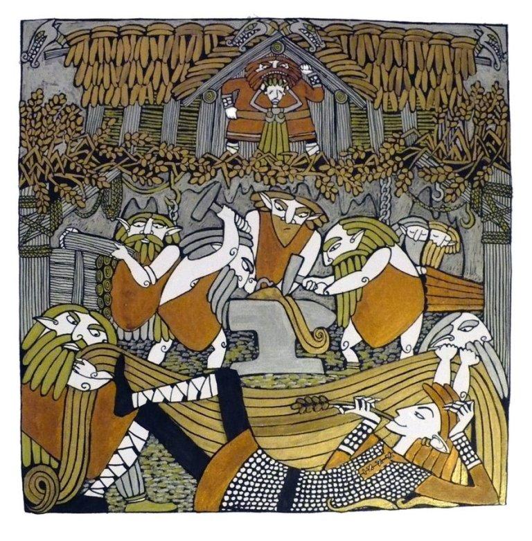 The Poetic Edda: Grímnismál Lokis Children Norse Mythology