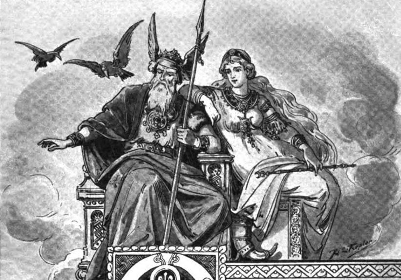 Odin Norse Mythology vs Zeus Greek Mythology