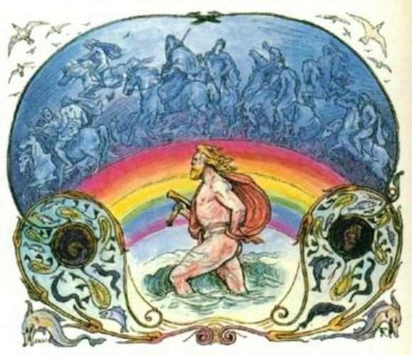 Rainbows in European Mythology FROLICH49BifrostColor