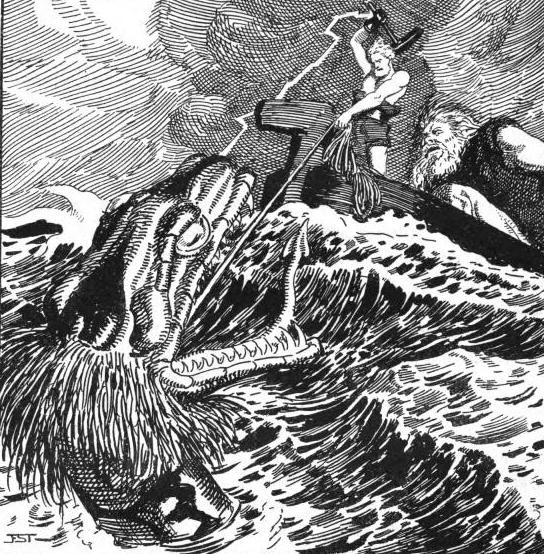 Illustrations From Die Edda