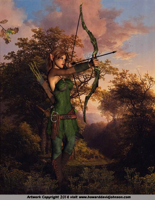 Illustrations Of Norse Mythology By Howard David Johnson