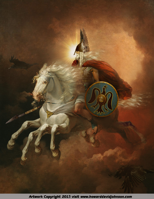 legends of norse mythology by howard david johnson