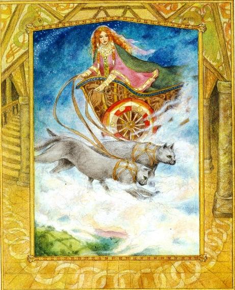 Classic Illustrations from Norse Mythology: http://www.germanicmythology.com/works/WaldherrArt.html